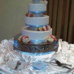 Cake with Risers