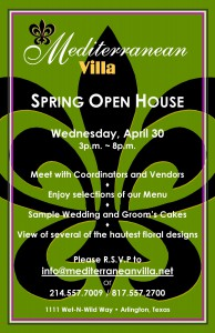 Open House Invitation- April 2014