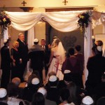 Jewish wedding ceremony in DFW