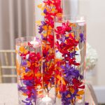 Red and Purple Centerpiece