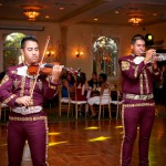 Mariachi Playing During Quinceanera