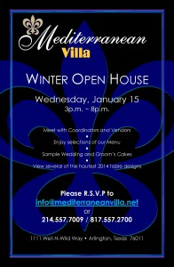 Open House Invitation- January 2014
