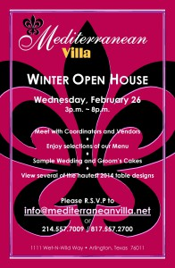 Open House Invitation- February 2014