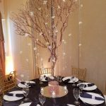 Centerpiece with Tree Branches