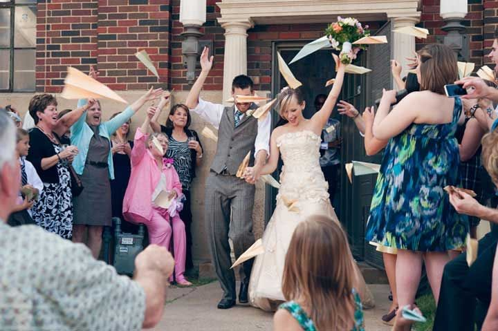 best ideas for wedding send off